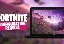 Configuration requise pour Fortnite