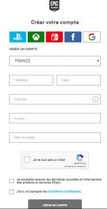 Fortnite pour iOS