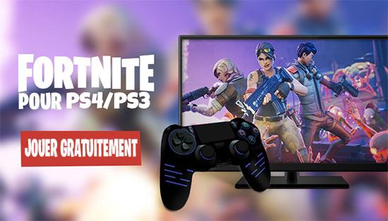 Fortnite pour PS4