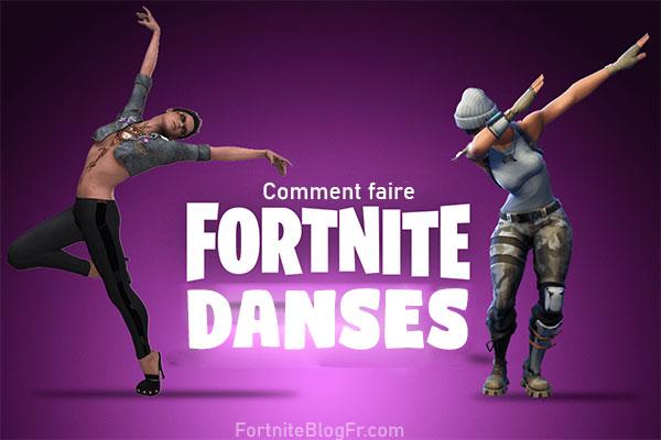 Danses Fortnite Top 9 Des Mouvements A Essayer Fortnite
